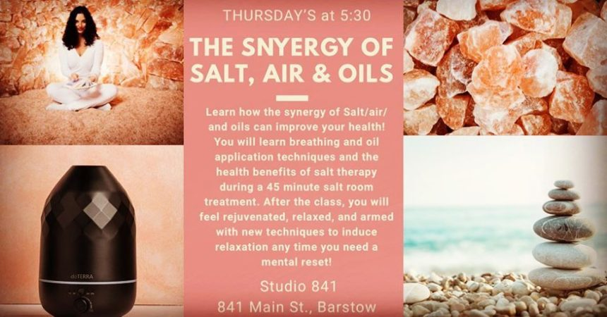 Synergy of Salt, Air and Oils