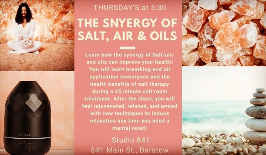 Synergy of Salt, Air and Oils